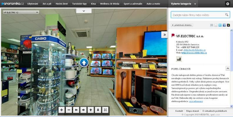 Virtuální prohlídka – nové možnosti prezentace www