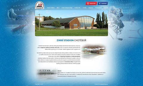 Zimní stadion prezentace pro stálého klienta